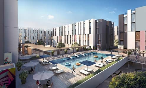 تملك واستثمر باكبر مشروع لاول مرة  بالشارقة (الجادة ) شقق سكنية وفلل متصلة اسعار ممتازة واقساط.