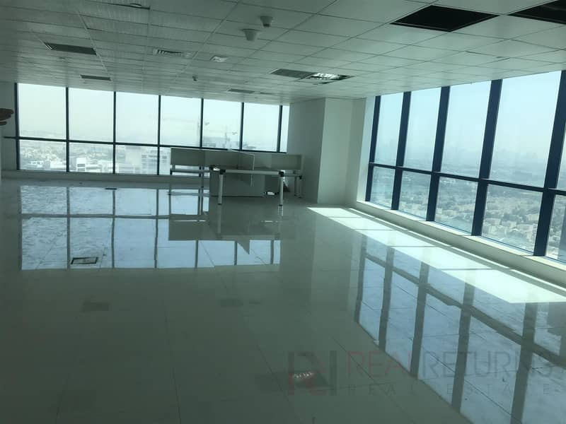 Panoramic View High floor X2 Tower in JLT [KH]