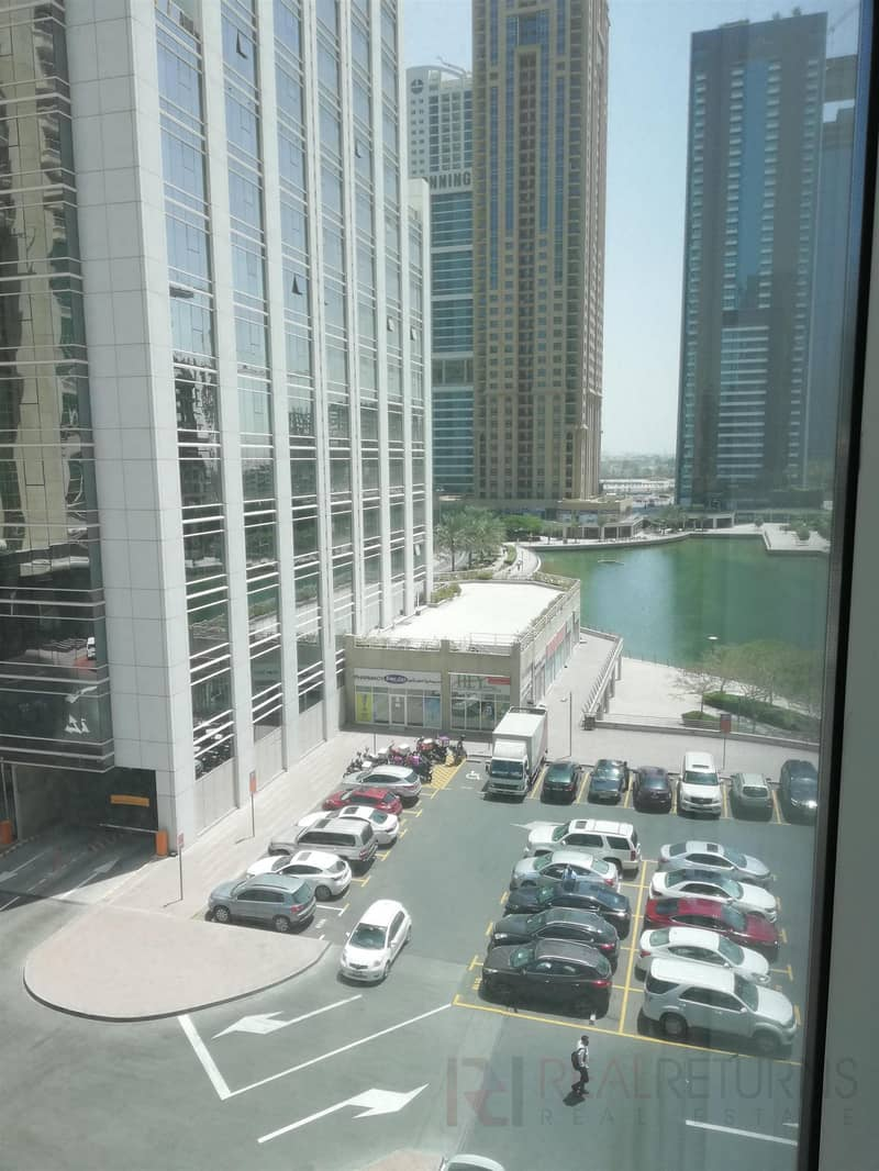 1 Spacious Fitted w.Glass Partitions in JLT [EC]