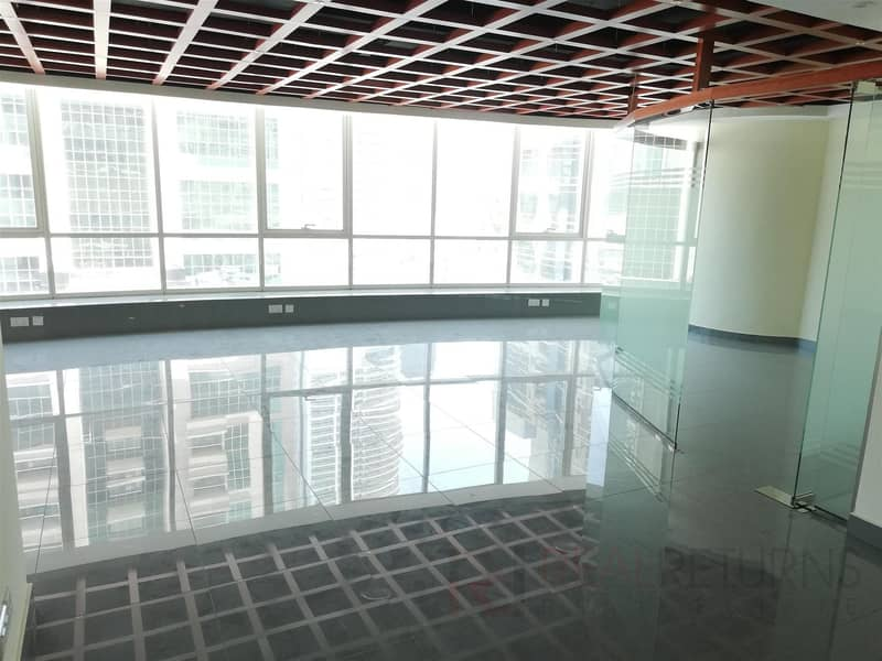 9 Spacious Fitted w.Glass Partitions in JLT [EC]