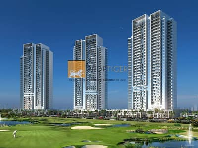 2 Bedroom Flat for Sale in DAMAC Hills (Akoya by DAMAC), Dubai - New Launch - Bellavista at Damac Hills - Golf facing apts with a 3-year payment plan