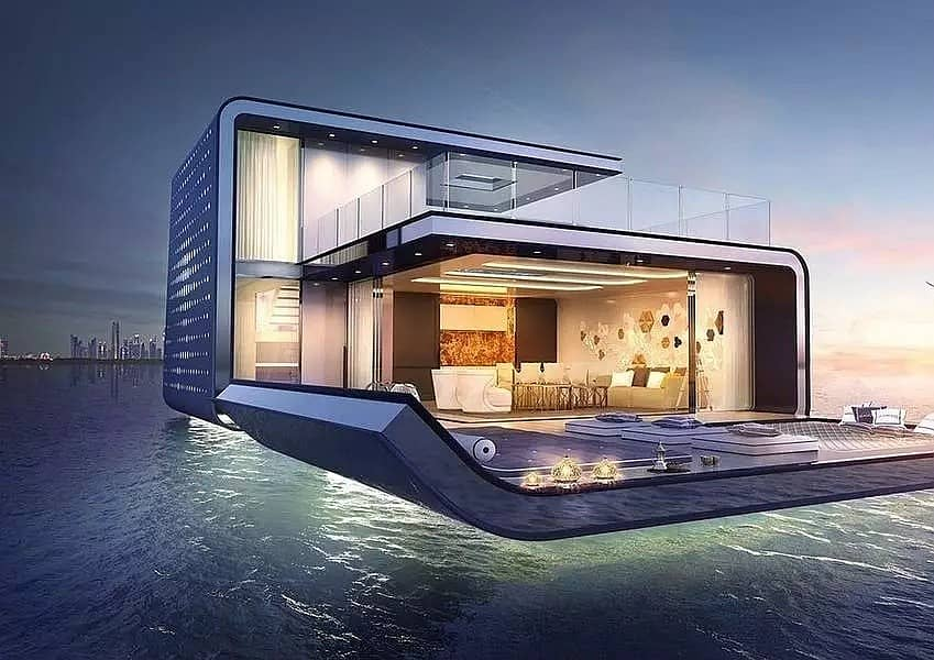 Get a guaranteed 8% return on investment for up to 10 years from your floating home