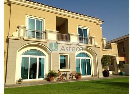 5 Bedroom Villa for Rent in Dubai Sports City, Dubai - Luxury 5 Br+Maids|Golf Course View|Type-B1