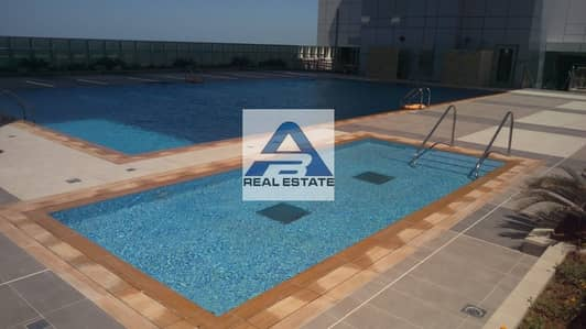 2 Bedroom Flat for Rent in Al Mina, Abu Dhabi - Sea View Spacious 2 Master bhk Facilities