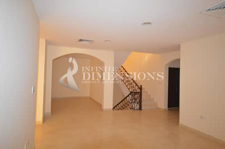 6 Bedroom Villa for Rent in Khalifa City A, Abu Dhabi - 6BR+M Commercial Villa by the main road!