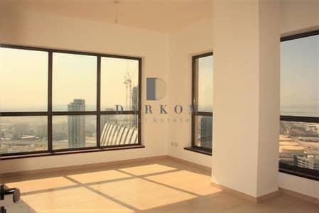 2 Bedroom Apartment for Rent in Jumeirah Beach Residence (JBR), Dubai - Sea and Marina View   2 BR   Shams 2