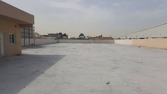 Industrial Land for Rent in Industrial Area, Sharjah - FOR RENT,FENCED LAND AT INDUSTRIAL AREA 12,SHARJAH