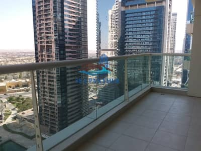 2 Bedroom Flat for Rent in Jumeirah Lake Towers (JLT), Dubai - Lake View l 2 BR + Maids l Al - seef 2 Tower.