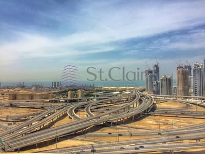 2 Bedroom Flat for Rent in Jumeirah Lake Towers (JLT), Dubai - Community View | 2 Beds in Lake Point | Mid Floor