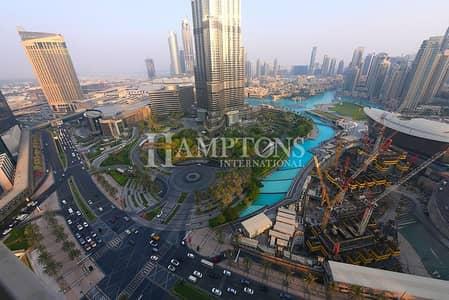 3 Bedroom Flat for Sale in Downtown Dubai, Dubai - High Floor 3BR with Full Burj Khalifa View