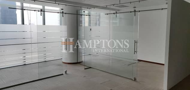 مکتب  للبيع في أبراج بحيرات جميرا، دبي - Fitted office for Sale in Almas Tower