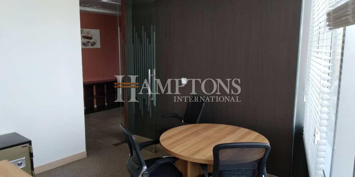 2 Furnished Office | 2 Parking | Lake View