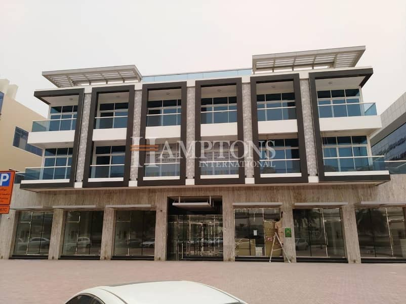 Sheikh Zayad road facing retail shop for rent