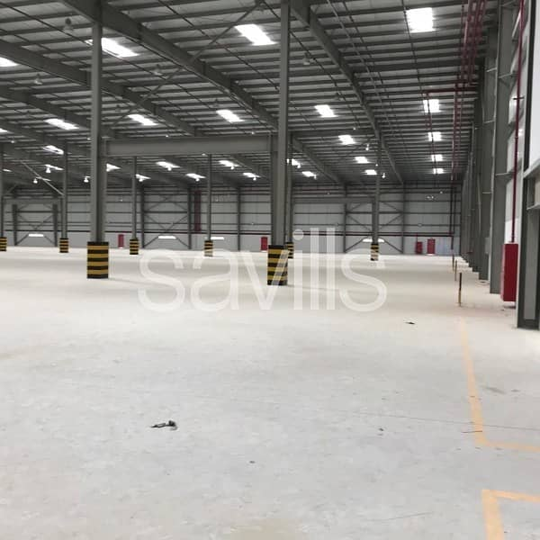 Modern Logistics Facility | Large Secure Yard