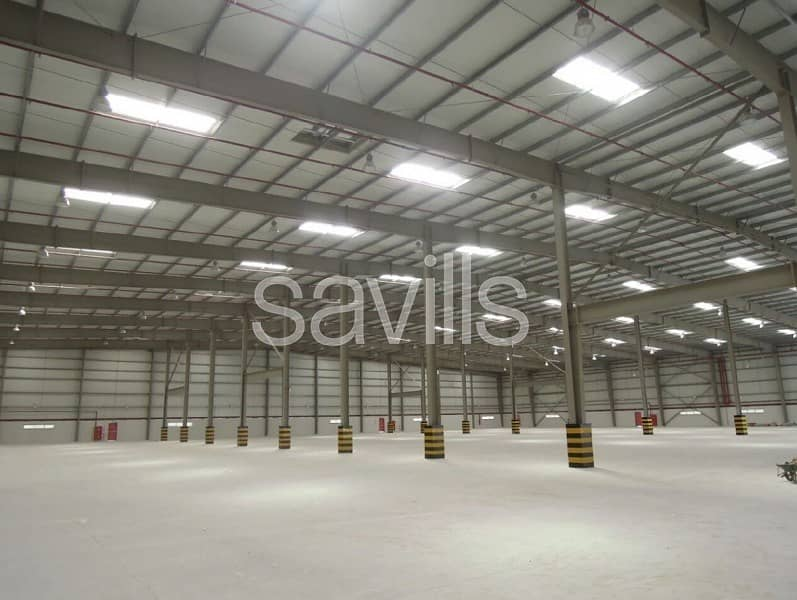 2 Modern Logistics Facility | Large Secure Yard
