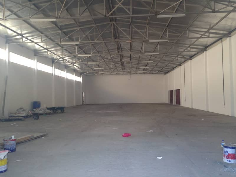 Spacious warehouse at al sajaa
