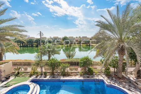 5 Bedroom Villa for Rent in The Meadows, Dubai - Large Private Pool - Lake View - Upgraded