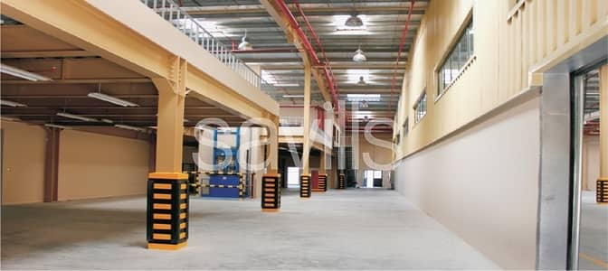 Warehouse for Sale in Dubai Investment Park (DIP), Dubai - Factory | Manufacturing Warehouse | 2000 KVA