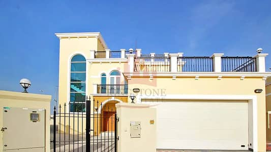 4 Bedroom Villa for Rent in Jumeirah Park, Dubai - Brand New 4BR  Maid's room Single Corner