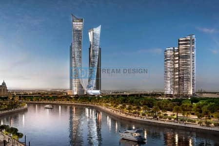 Luxury freehold 1 Bed Apt on Sheikh Zayed Road overlooking Dubai Canal