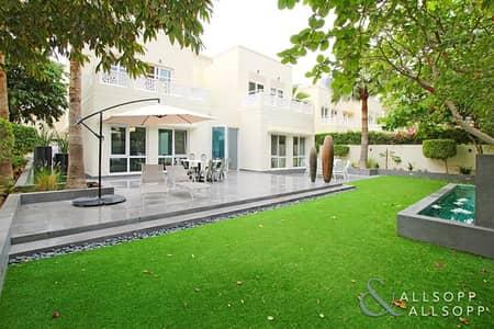 فیلا 4 غرفة نوم للبيع في السهول، دبي - Upgraded | Extended | With Front Lake View