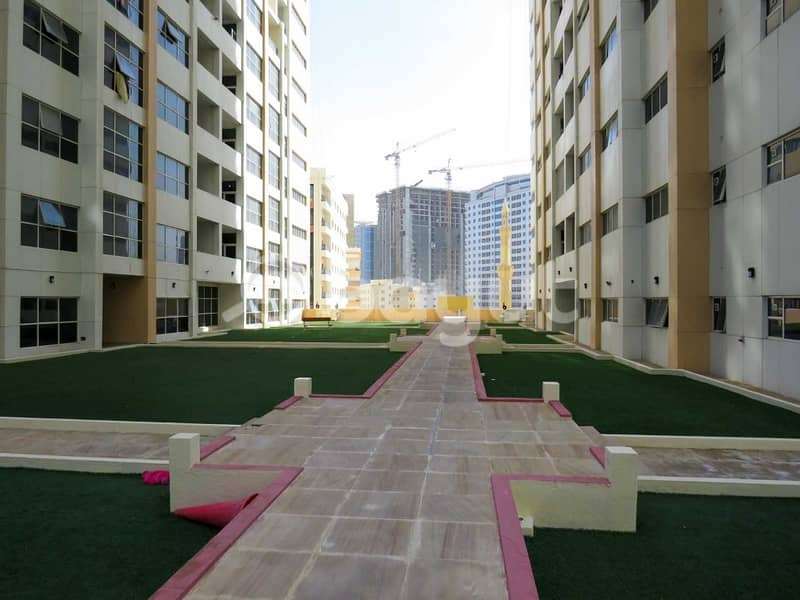 3 B/R with Parking For Sale In Ajman One Tower with Maids Room
