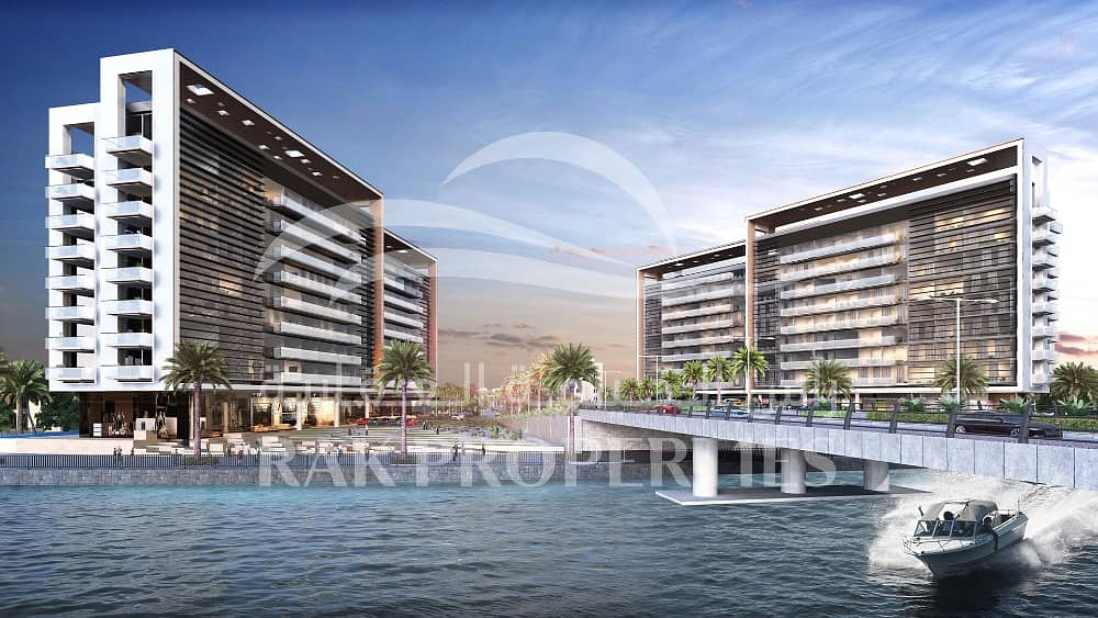 Lagoon and sea view Apartments | 5 y. Post Payment plan