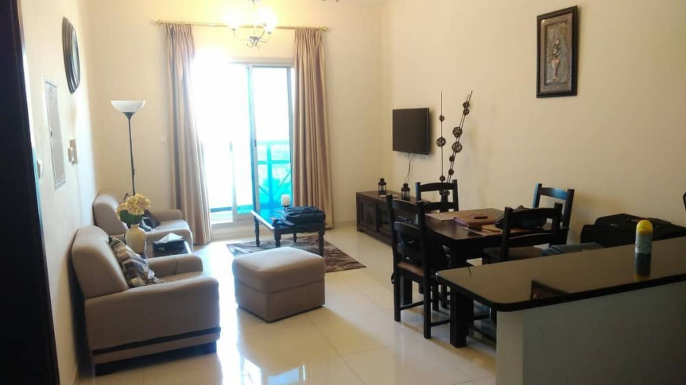 Spectacular Golf Course View | Fully Furnished 1 BHK | Elite-7, Sports City