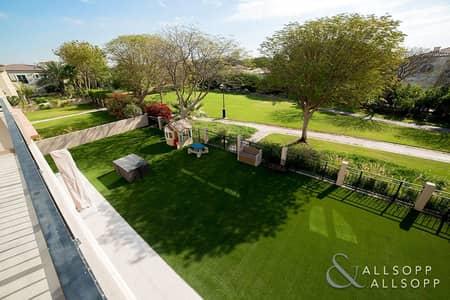 5 Bedroom Villa for Sale in Green Community, Dubai - Exclusive   Park View   Cul De Sac Location