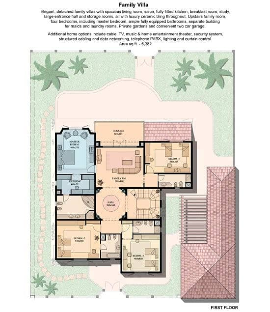 10 Best Family Villa in Green Community East