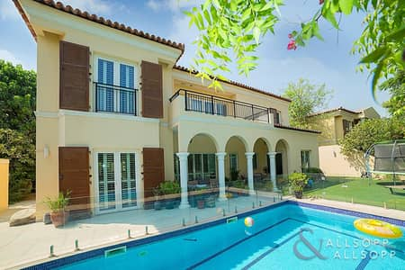 5 Bedroom Villa for Sale in Green Community, Dubai - Fully Upgraded | Private Pool | Cul de Sac
