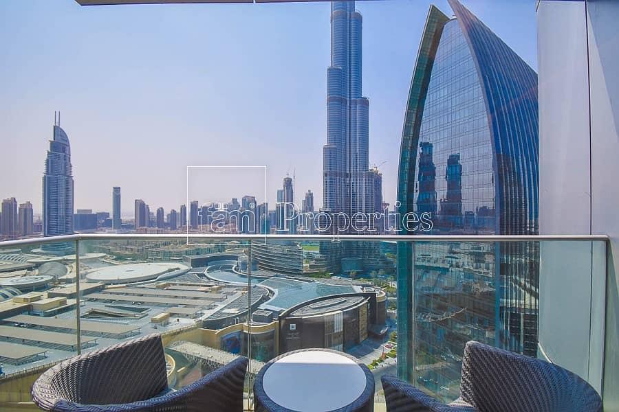 Large 2Bed| Mid Floor| Burj Khalifa View