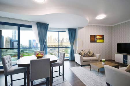 2 Bedroom Apartment for Rent in Jumeirah Lake Towers (JLT), Dubai - Stunning 2BR Duplex with Parking In JLT
