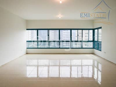 شقة 3 غرفة نوم للايجار في شارع الشيخ خليفة بن زايد، أبوظبي - Best Offer Now! 3 BHK+MR w/ Balcony No Commission