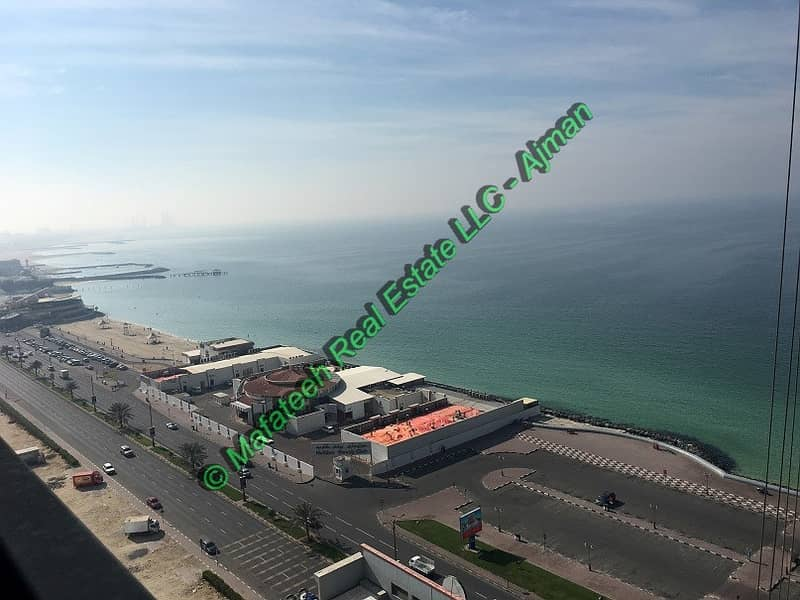 DIRECT FROM OWNER - 2BHK with parking in Corniche Tower - 1924 Sqft - 740,000/= ONO.