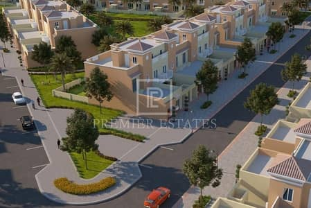 4 Bedroom Townhouse for Sale in Dubai Sports City, Dubai - Great Launh Offer|70% Post Handover Payment Plan