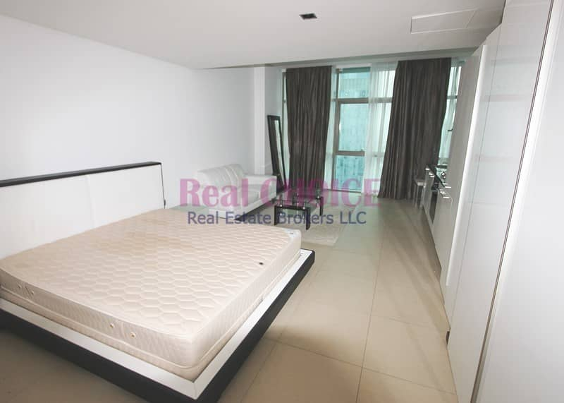 Fully Furnished Studio|High Floor Apartment