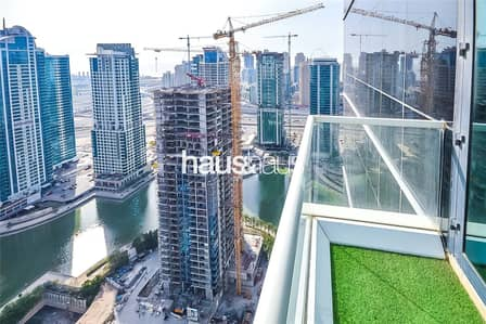 2 Bedroom Apartment for Rent in Jumeirah Lake Towers (JLT), Dubai - Goldcrest Views 2 | Two Balconies | High Floor