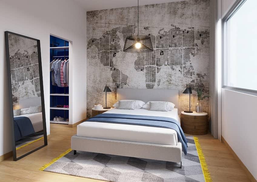 شقة في ذا نوك وصل غيت 2 غرف 686777 درهم - 3986188