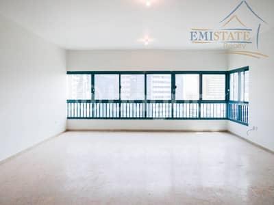 فلیٹ 3 غرفة نوم للايجار في شارع الشيخ خليفة بن زايد، أبوظبي - Best Offer Now! 3 BHK+MR w/ Balcony No Commission