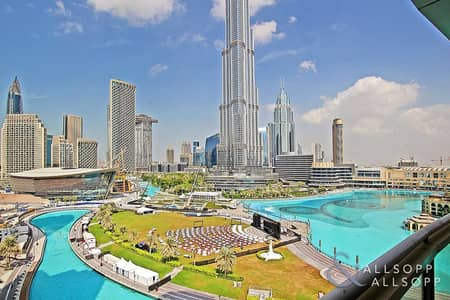 3 Bedroom Apartment for Rent in Downtown Dubai, Dubai - Three Bedroom   Fountain View   Upgraded