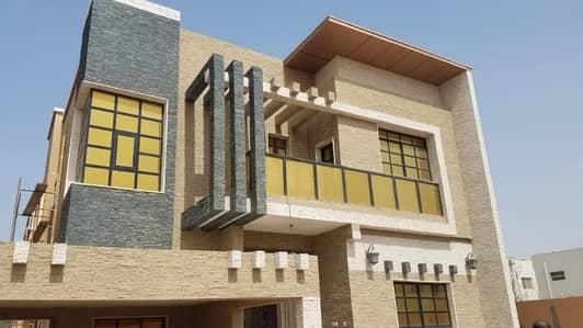 فیلا 5 غرفة نوم للايجار في المويهات، عجمان - فيلا رائعه اول ساكن تكييف مركزى للايجار بسعر ممتاز بالمويهات المويهات 2، المویھات، عجمان