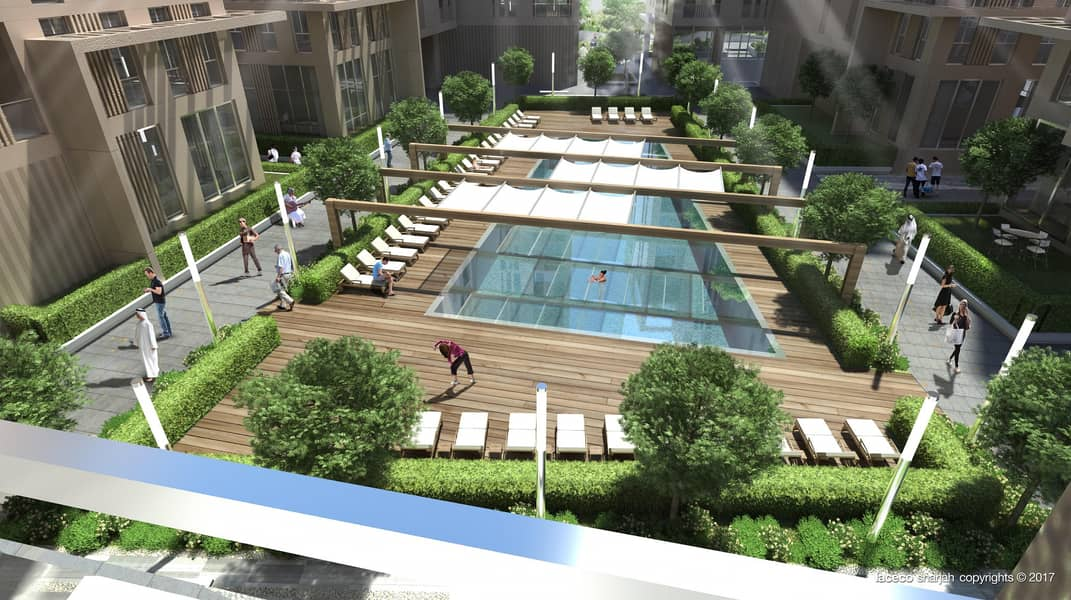 2 Stylish 1 Bedroom with garden. Live