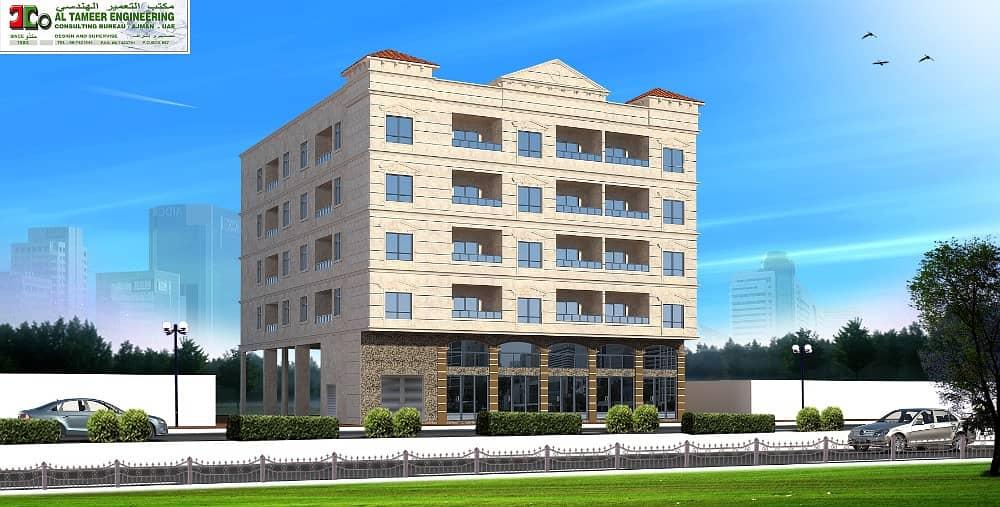 مبنى سكني في النعيمية 5000000 درهم - 3851009