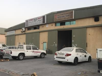 12 Chqs :- 2000 sqft Warehouse for rent opposite China mall al jurf