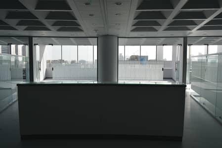 مکتب  للايجار في شارع النجدة، أبوظبي - مکتب في برج المسعود شارع النجدة 759000 درهم - 3974299