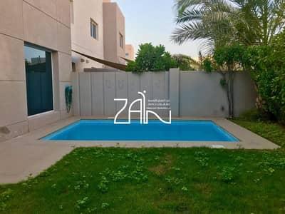5 Bedroom Villa for Sale in Al Reef, Abu Dhabi - Single Row 5 BR Villa Big Plot with Pool