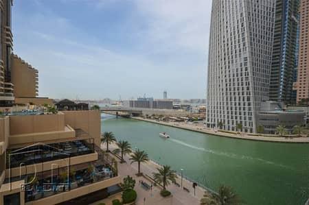 فلیٹ 2 غرفة نوم للايجار في الخليج التجاري، دبي - Amazing 2 bedroom unfurnished flat with great marina views