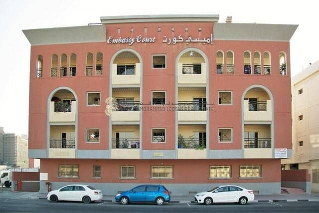 1BR Hall available for Rent in Al Hamriya (2 mos free rent- Ramadan Promotion, for Ltd. Time only)
