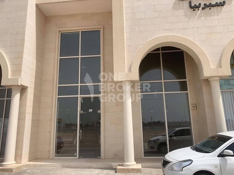 2 Exclusive Retail| Shell & Core| JebelAli